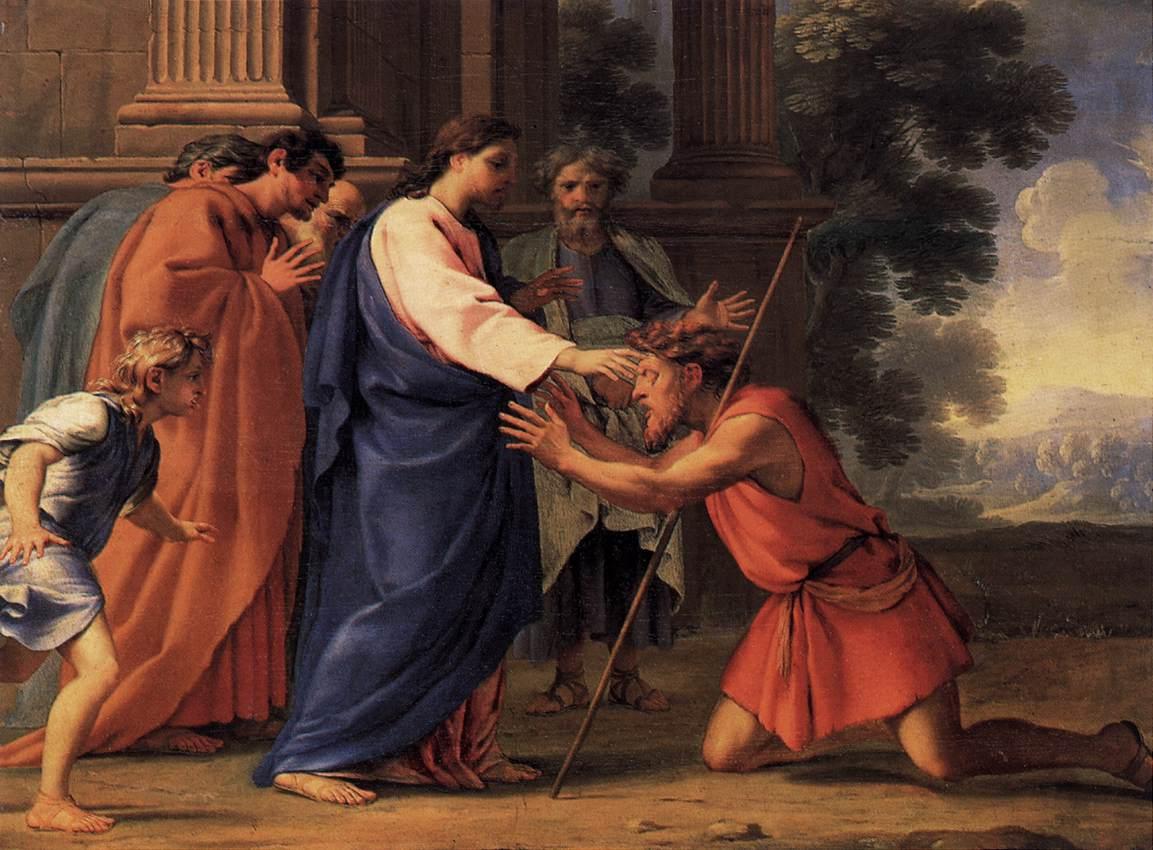 Christ-healing-a-blind-man-Eustache-Le-Sueur